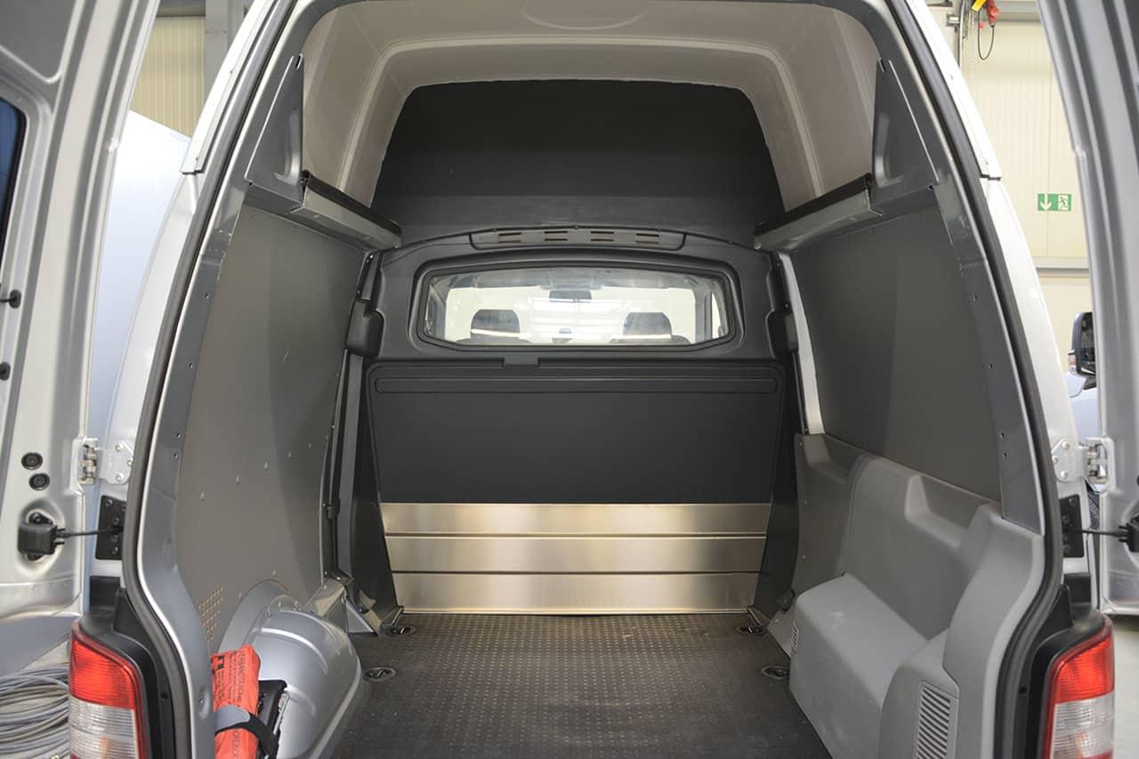 trennwand c s ule vw t5 t6 transporter hochdach fes. Black Bedroom Furniture Sets. Home Design Ideas
