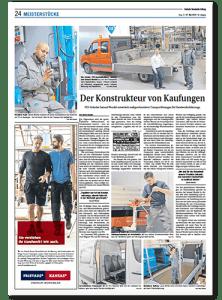 Presseartikel FES Deutsche Handwerks Zeitung